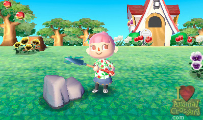 Animal Crossing 3DS screenshot - E3 2010