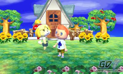 Animal Crossing 3DS screenshot - E3 2011