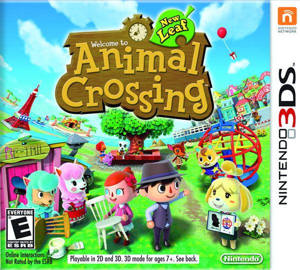 Animal Crossing: New Leaf (3DS) box