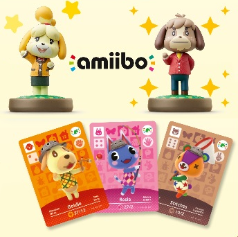 Animal Crossing Amiibo Figures & Cards