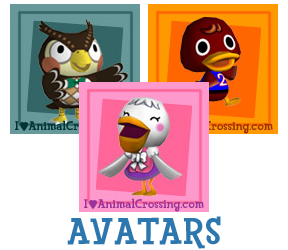Animal Crossing Avatars / Icons