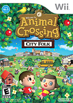 Animal Crossing: City Folk (Wii) box