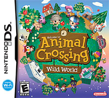 Animal Crossing: Wild World (DS) box