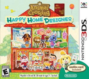 Animal Crossing: Happy Home Designer 3DS Box